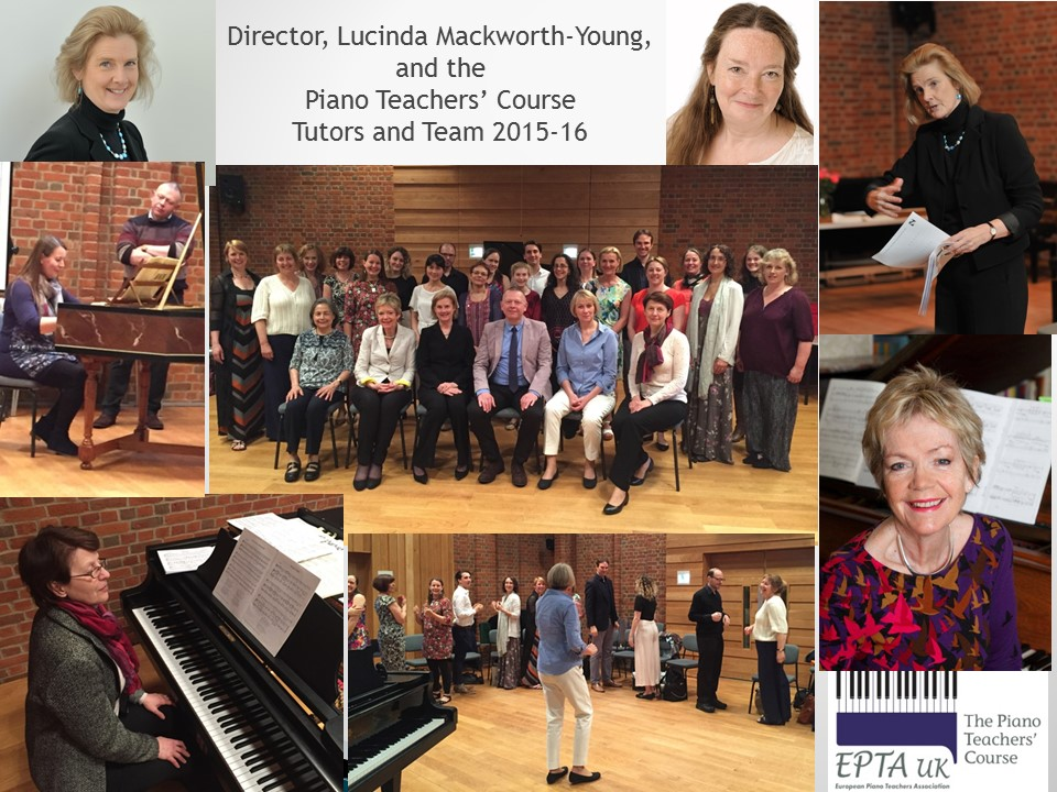 Director Lucinda Mackworth-Young and The Piano Teachers' Course EPTA UK